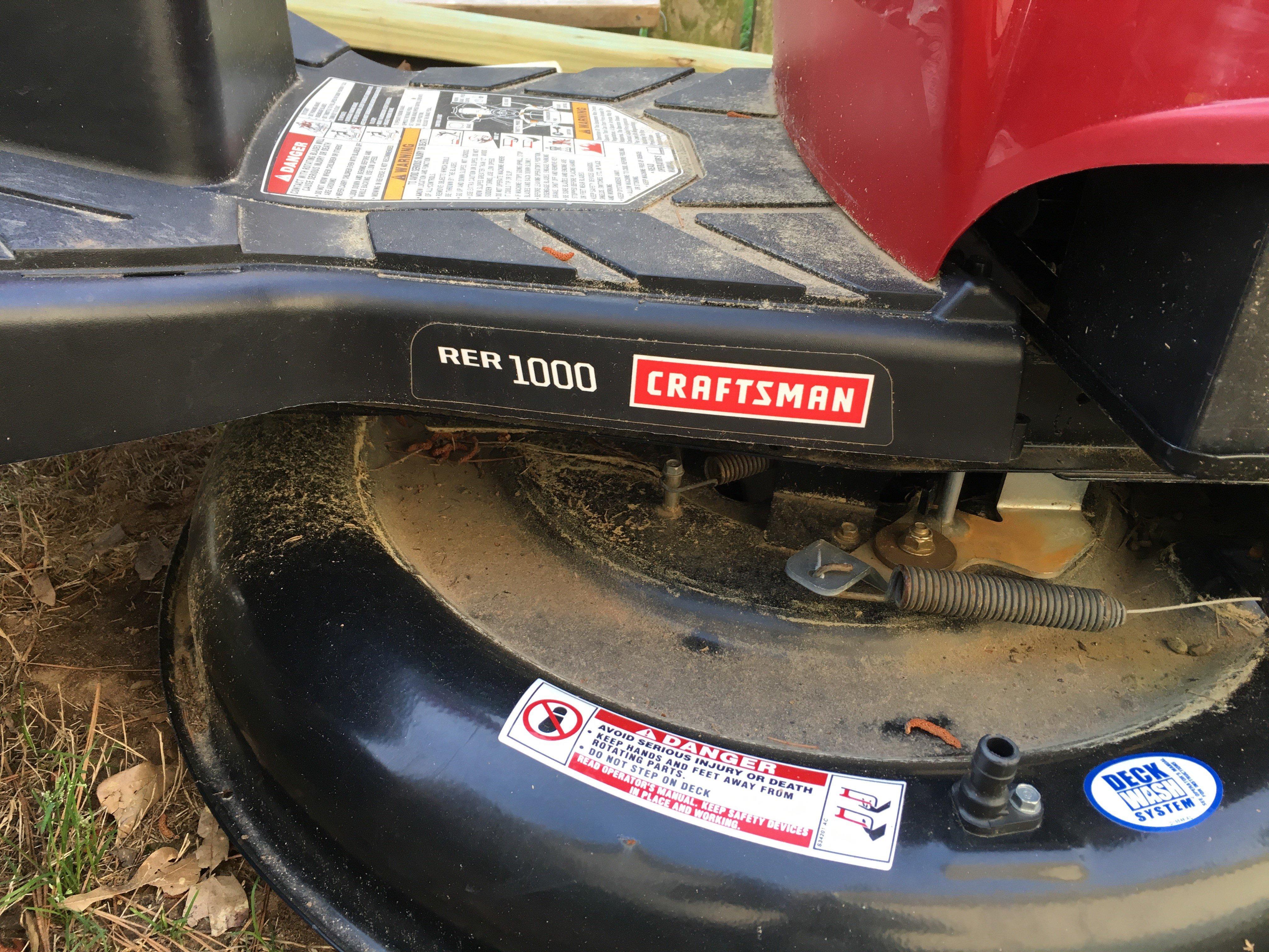 Craftsman Riding Mower | Arkansas Hunting - Your Arkansas