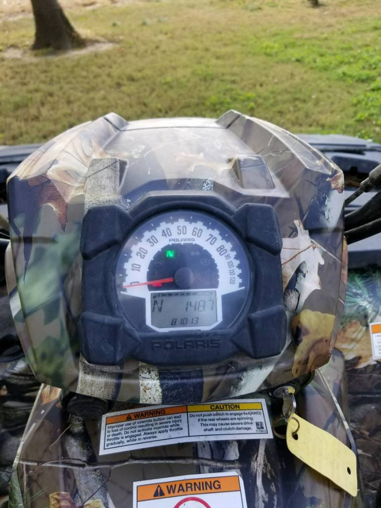 2011 Polaris sportsman 850 xp   Arkansas Hunting - Your