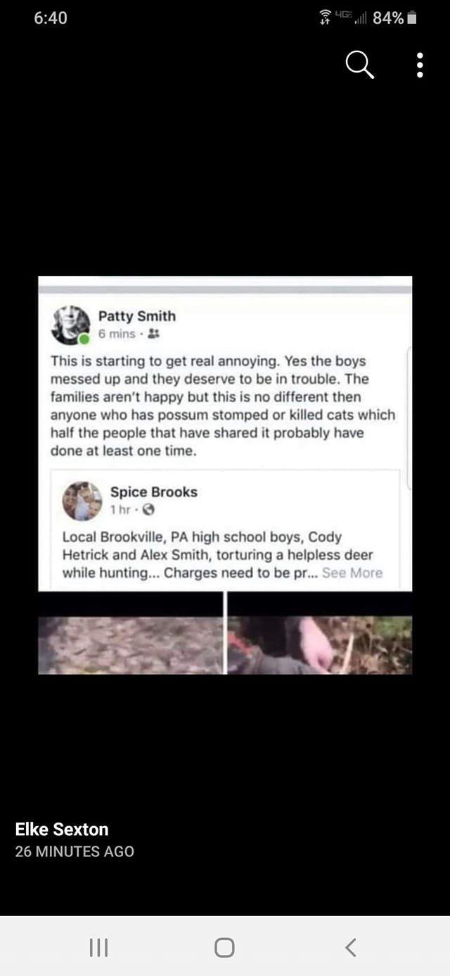 alex smith brookville pa