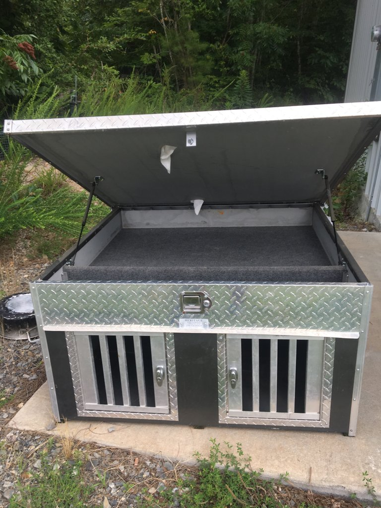 Heritage 2 Hole Dog Box Arkansas Hunting Your