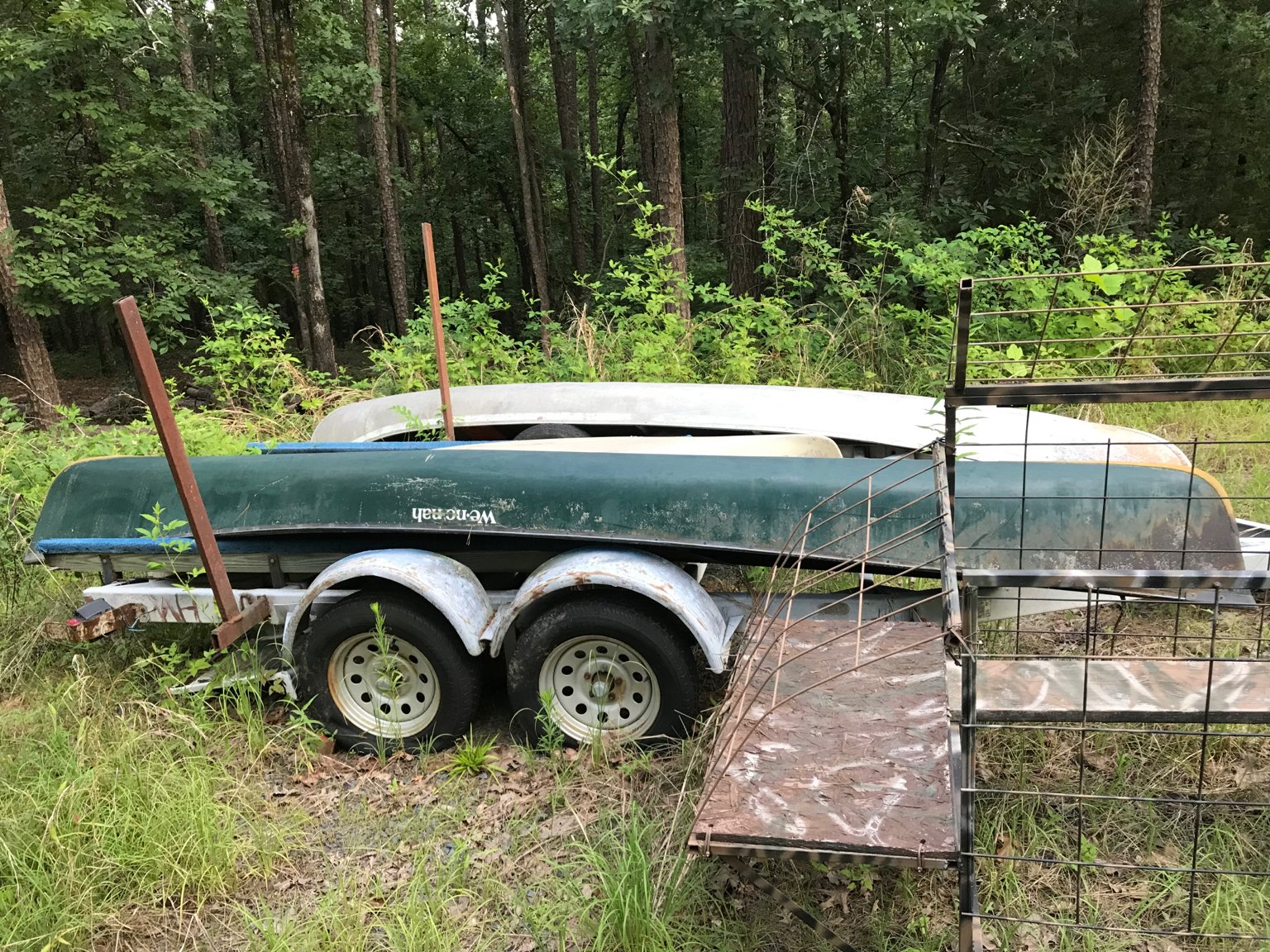 Wenonah Down River/Prospector 16 Canoe | Arkansas Hunting