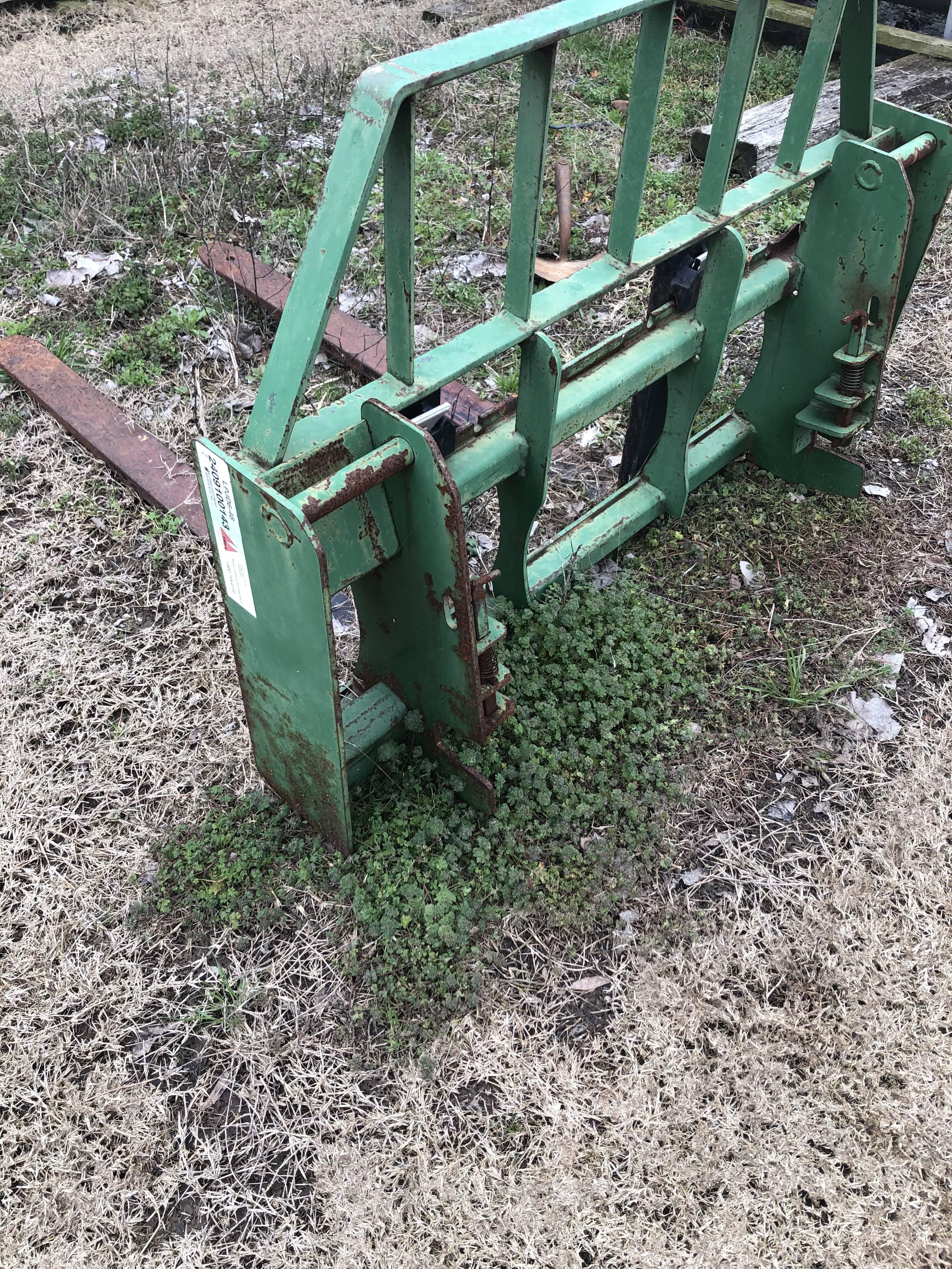Jd Tractor Forks : Pallet forks for john deere loader arkansas hunting