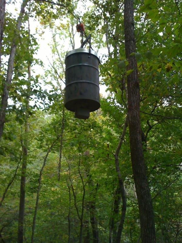 org bucket feeder savetheleaks deer proof coon feeders