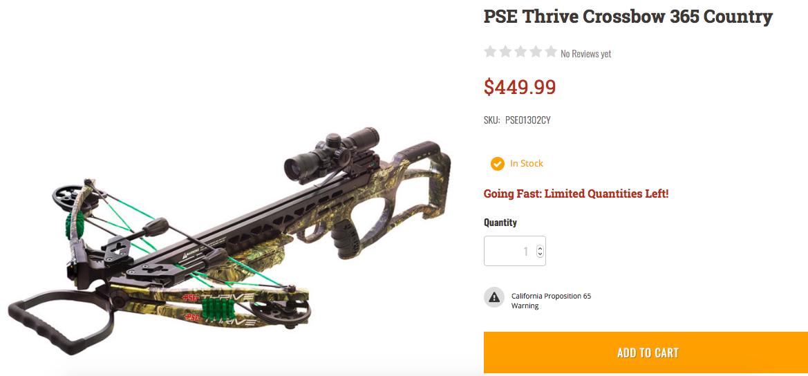Brand New PSE Crossbow | Arkansas Hunting - Your Arkansas